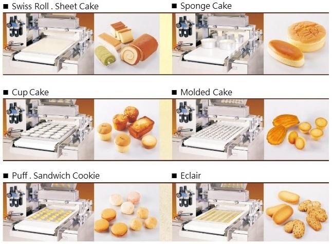 Cake filling machine ماكينة صب اسبونش